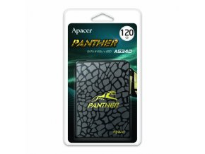 """Interní disk SSD Apacer 2.5"""", SATA III, 120GB, AS340, AP120GAS340G-1 500 MB/s,550 MB/s, Panther"""