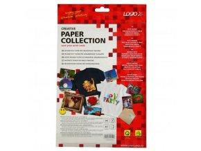 Logo magnetický papír, PRO, bílý, A4, 871 g/m2, 1440dpi, 2 listy, pro inkoustové tiskárny, L