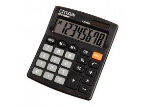 Citizen Kalkulačka SDC805NR, černá, stolní, osmimístná, duální napájení