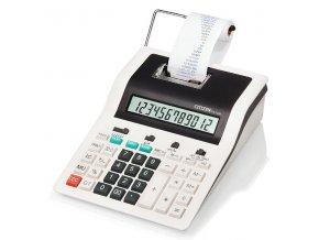Citizen Kalkulačka CX123N, bílo-černá, dvanáctimístná s tiskem, dvoubarevný tisk