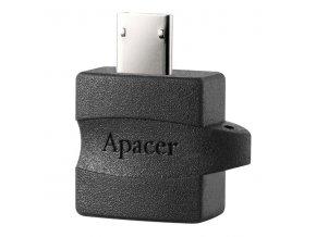 Redukce (2.0), USB micro B M- USB A F, 0m, černá, Apacer