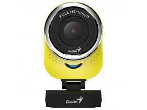 Genius Web kamera QCam 6000, 2,1 Mpix, USB 2.0, žlutá