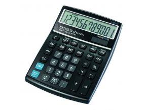 Citizen Kalkulačka SDC4310, černá, stolní, dvanáctimístná