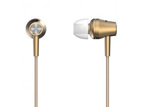Genius HS-M360, sluchátka, bez ovládání hlasitosti, zlaté, špuntová typ 3.5 mm jack