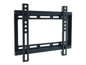 """Fixní držák TV SBOX PLB-2222F, 23""""-43"""", 35 kg max, 200x200 VESA, 19,5mm, černý"""