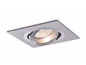 Vestavné svítidlo Aluminio Plata, kartáčovaný hliník 1x50W, 230V 156 BPM3011