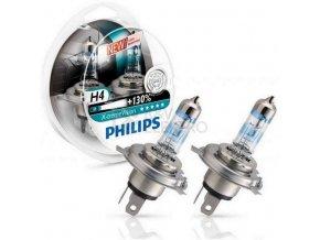 Autožárovky Philips H4 X-tremeVision 12342XV+S2 60/55W 12V P43t-38 +130%