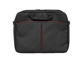"""Taška na notebook 16"""", Iota, černá z polyesteru, Defender"""