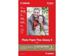 """Canon Glossy Photo Paper, foto papír, lesklý, bílý, 10x15cm, 4x6"""", 275 g/m2, 5 ks, 2311B053, nespecifikováno"""