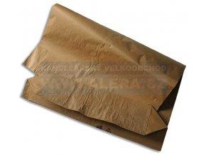 .Pytel papírový 65cm x 120cm 80gr dvouvrstvý hnědý [ POUZE PO 15-ti ks ]
