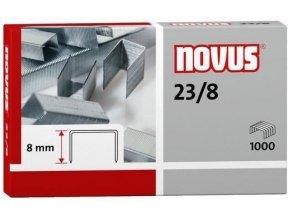 Spony do sešívačky 23/8  1000ks Novus