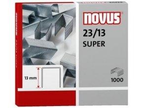 Spony do sešívačky 23/13  1000ks Novus Super