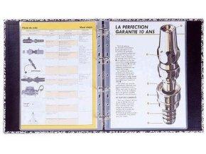 Laminovací kapsa A4+228x303/80 mic/100 ks Plasticlass /s euroděrováním /