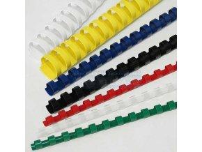 .Plastový kroužek na vazbu 12,5mm 1ks [ POUZE PO 100 ks ]