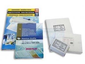 .Laminovací kapsa A5 154x216/080 mic/100 ks