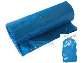 Pytel  70x100 - 40mic zatahovací role /25ks modrá