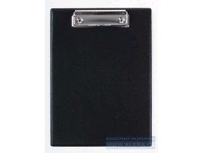 Deska psací podložka A5 horní klip PVC černá