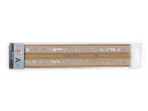 VÝPRODEJ - Šablona Koh-i-noor 748008 písmenka 7mm