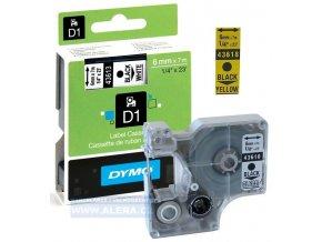 Dymo páska D1 el. 6x7m