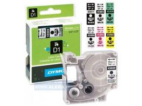 Dymo páska D1 el. 19x7m