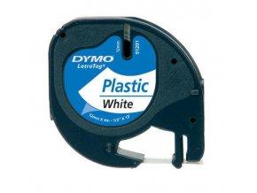 Dymo páska LETRA TAG 12x4m plastová