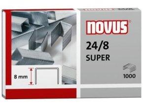 Spony do sešívačky 24/8  1000ks Novus Super