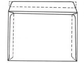 Obálka C6 1ks  krycí páska vnitřní potisk ELCO