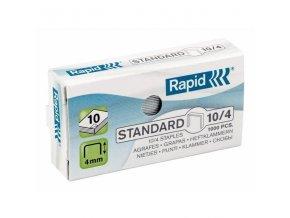 Spony do sešívačky 10/4  1000ks Rapid Standard