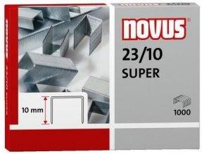 Spony do sešívačky 23/10  1000ks Novus Super