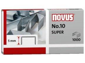 Spony do sešívačky No.10  1000ks Novus Super