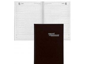 Zboží na objednávku - Diář DENNÍ ZÁZNAMY A4  černá  368 listů
