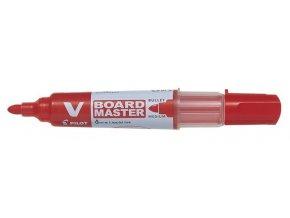 Popisovač bílá tabule Pilot V-Board Master Begreen 2.3mm [ POUZE PO 10-ti ks ]červená