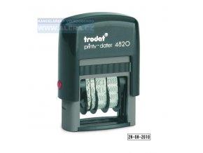Razítko TR4820 - datumovka - černá poduška