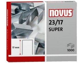 Spony do sešívačky 23/17  1000ks Novus Super