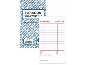 Tiskopis Paragon BAL číslovaný 1+1 EKO  ET007