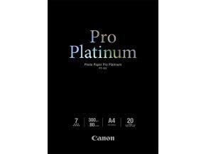 Papír Canon PT 101 A4 20listů 300gr Pro Platinum  foto lesklý