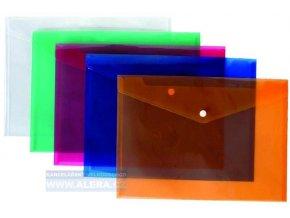 .Obálka s drukem A4 průhledná modrá, 5ks