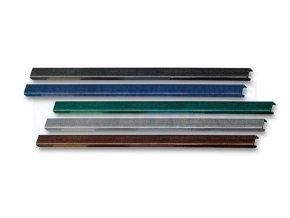 Metalbind hřbet 10x304mm dl./10 ks červená