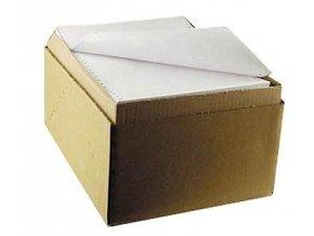 Papír tabelační 24/06/1+1/1000listů  PPerforace Printmax