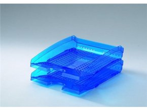 Odkladač na dokumenty Trend Durable 1701626540 transparentní modrá