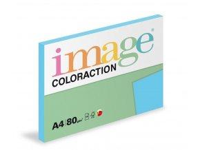 Zboží na objednávku - Papír COLORACTION A4 80g/100 Lisbon sytá modrá AB48