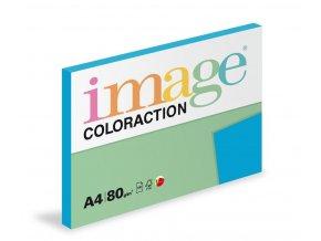 Zboží na objednávku - Papír COLORACTION A4 80g/100 Stockholm tmavá modrá DB49