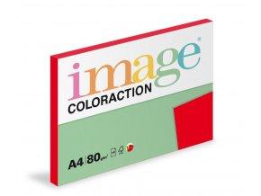 Papír COLORACTION A4 80g/100 Chile jahodově červená CO44