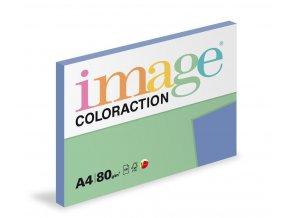 Zboží na objednávku - Papír COLORACTION A4 80g/100 Malta středně modrá SP13