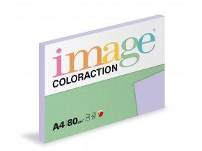 Zboží na objednávku - Papír COLORACTION A4 80g/100 Tundra pastelově fialová LA12