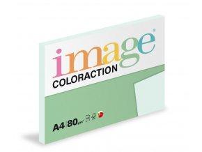Zboží na objednávku - Papír COLORACTION A4 80g/100 Lagoon pastelově světle modrá BL29