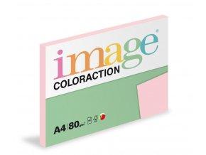 Zboží na objednávku - Papír COLORACTION A4 80g/100 Tropic pastelově růžová OPI74