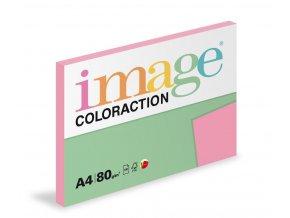 Zboží na objednávku - Papír COLORACTION A4 80g/100 Coral starorůžová PI25