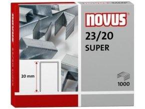 Spony do sešívačky 23/20  1000ks Novus