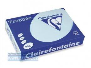 VÝPRODEJ - Papír Clairefontaine A4/ 80g/500 1798 azurově modrá